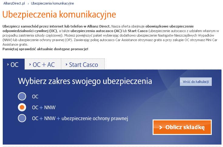 allianz_direct_jakie_ubezpieczenie