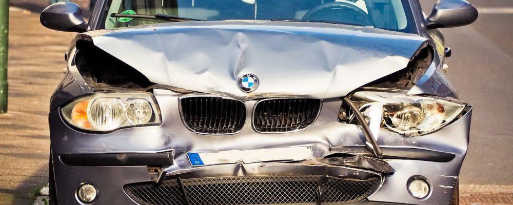 Stłuczka samochodem zastępczym
